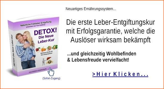 Detox! Natürliche Fettleber Ernährung